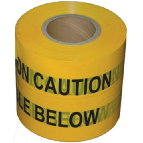 HAZARD TAPE CAUTION ELECTRIC CABLE BELOW 365MT x 150MM